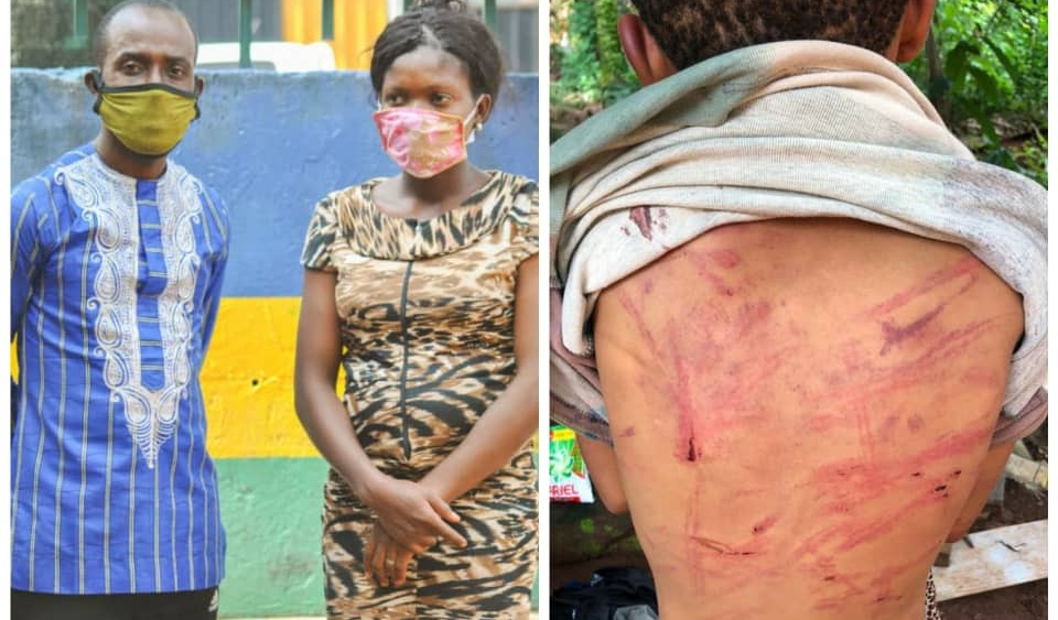 Couple arrested for brutalising their 12-year-old daughter in Enugu