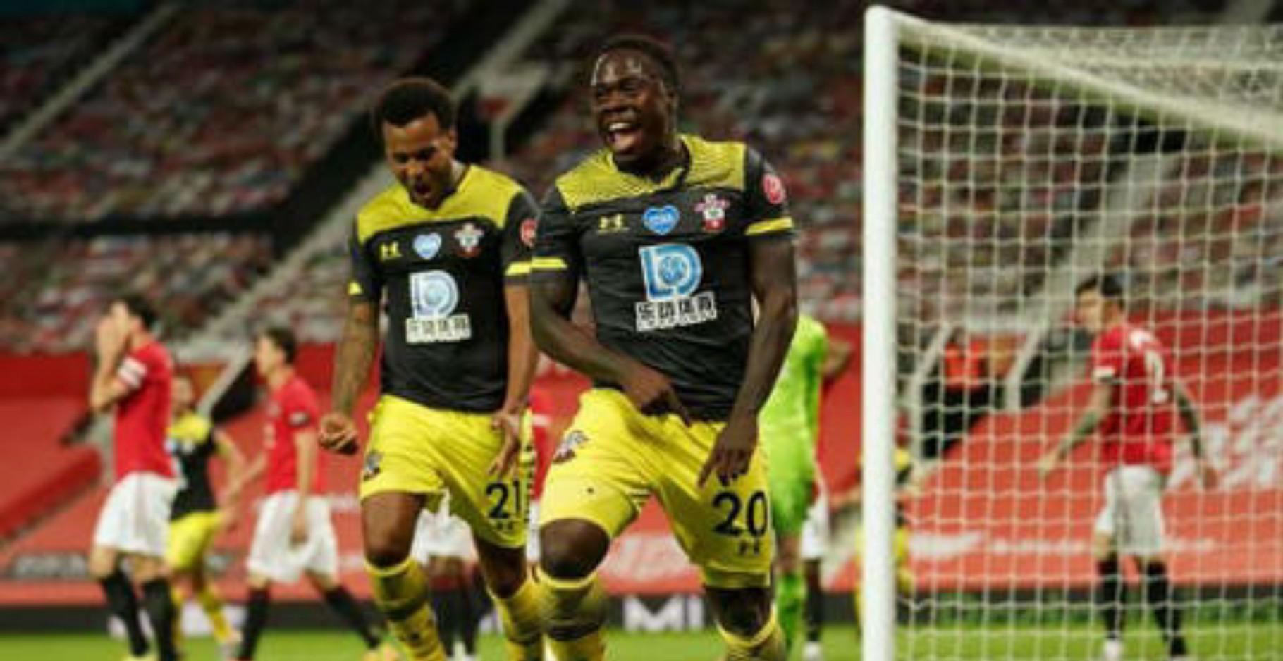 EPL: Obafemi denies Man United victory against Southampton