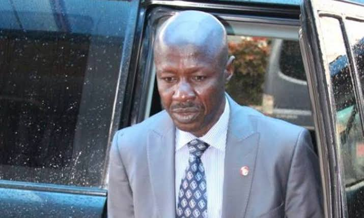 Police Seize Magu's Official Bulletproof Vehicles, Seal Office