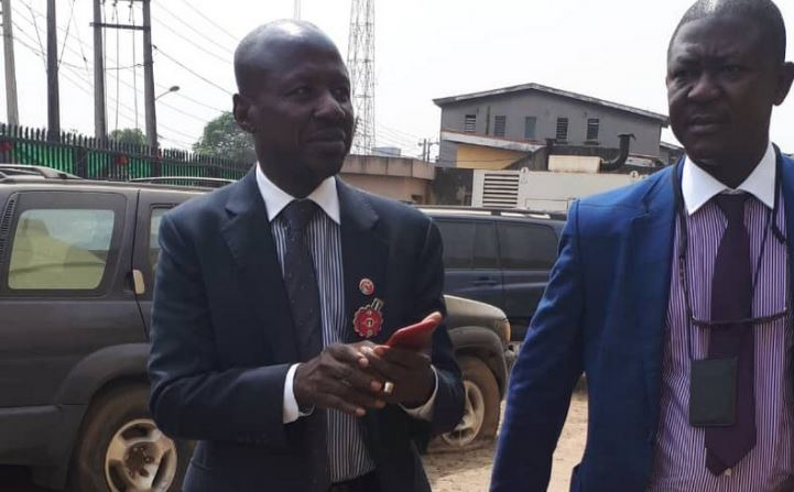 BREAKING: Magu released after 10 days in detention