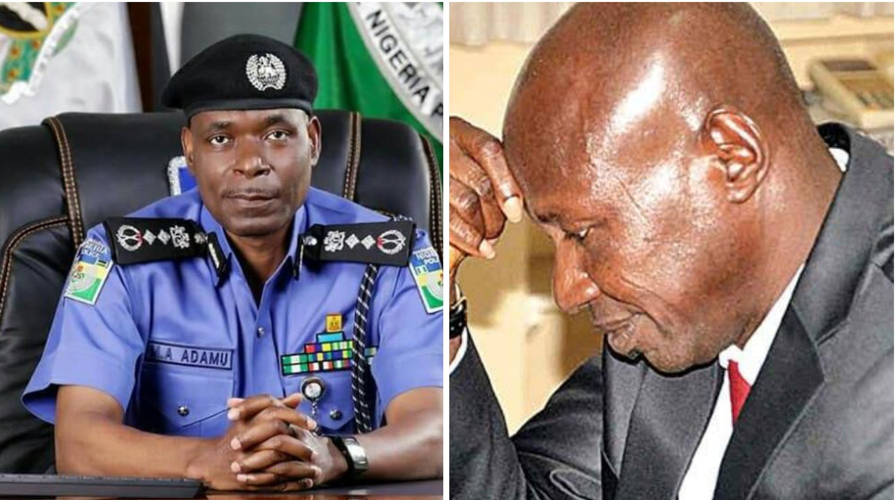 Presidential panel holding Magu in detention not police, says IGP