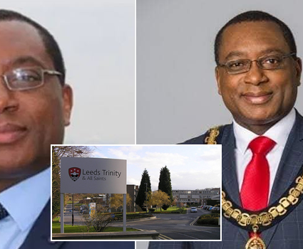 Nigerian professor, Charles Egbu gets Vice Chancellor appointment in UK university