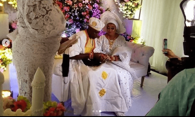 Photos from Nollywood actress, Lizzy Anjorin's traditional wedding