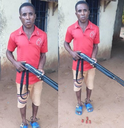 Anambra police arrest man for shooting friend with a gun he obtained from a church over N1000 debt