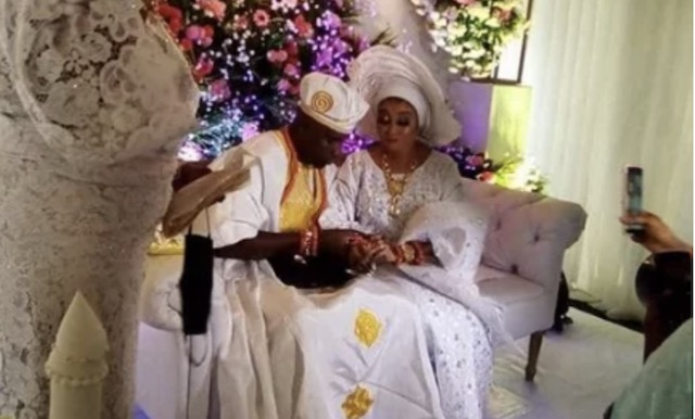 My late mother endorsed my hubby, New bride, Liz Anjorin