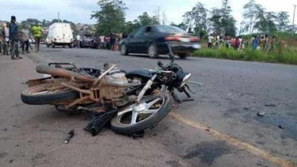 Motorcyclist killed in head-on collision