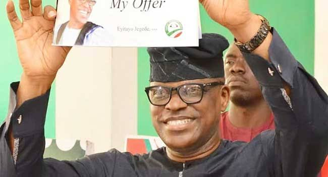 Eyitayo Jegede defeats Ondo deputy governor and others to emerge as PDP guber candidate