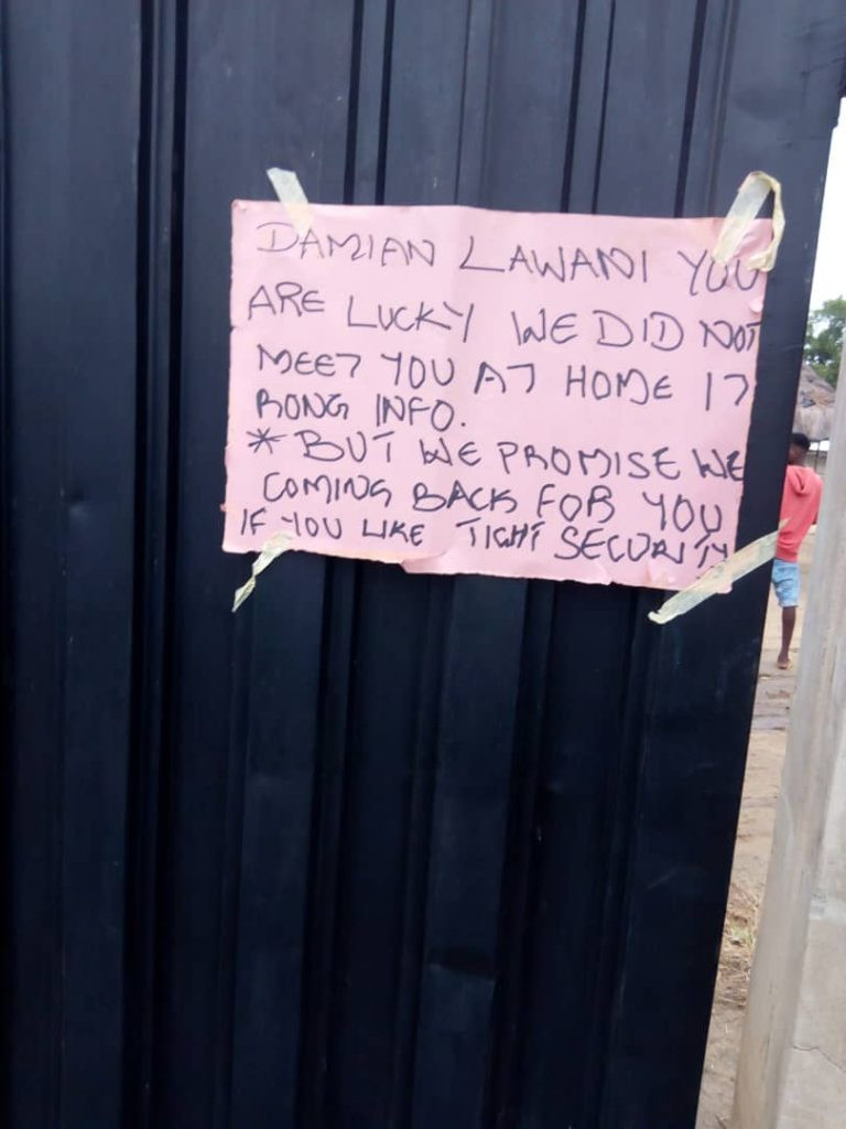 Gunmen storm residence of Edo commissioner, leave deadly note