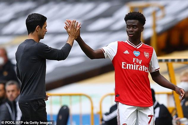 Mikel Arteta hints that Bukayo Saka should choose England over Nigeria at international level