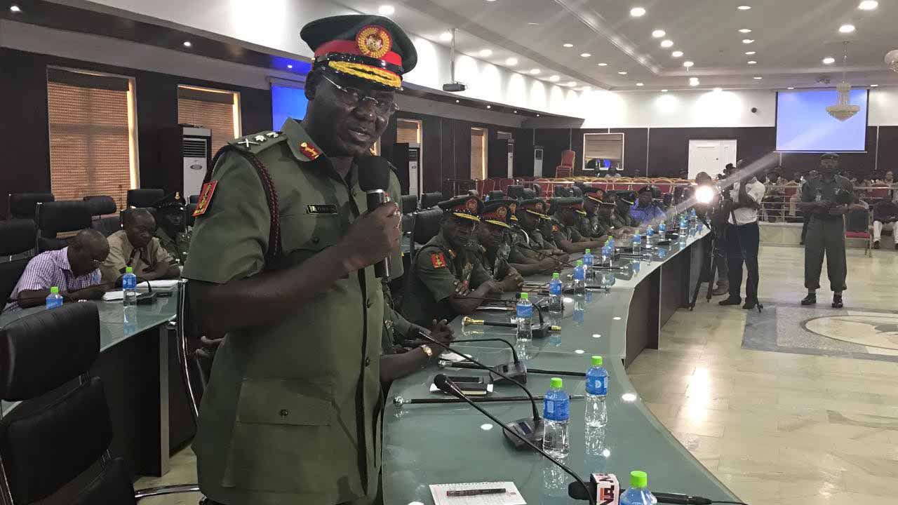 COAS, Buratai insists Nigeria is safer than five years ago