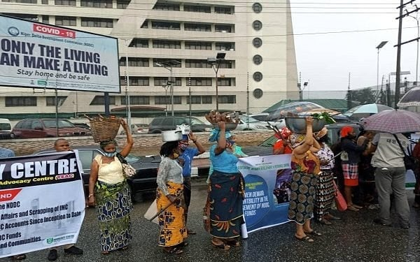 Protesters storm NDDC headquarters, demand prosecution of alleged looters