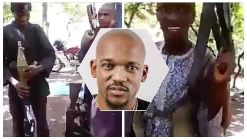 Singer, Joel Amadi releases video of armed youths, accused them of killing his father in Kaduna