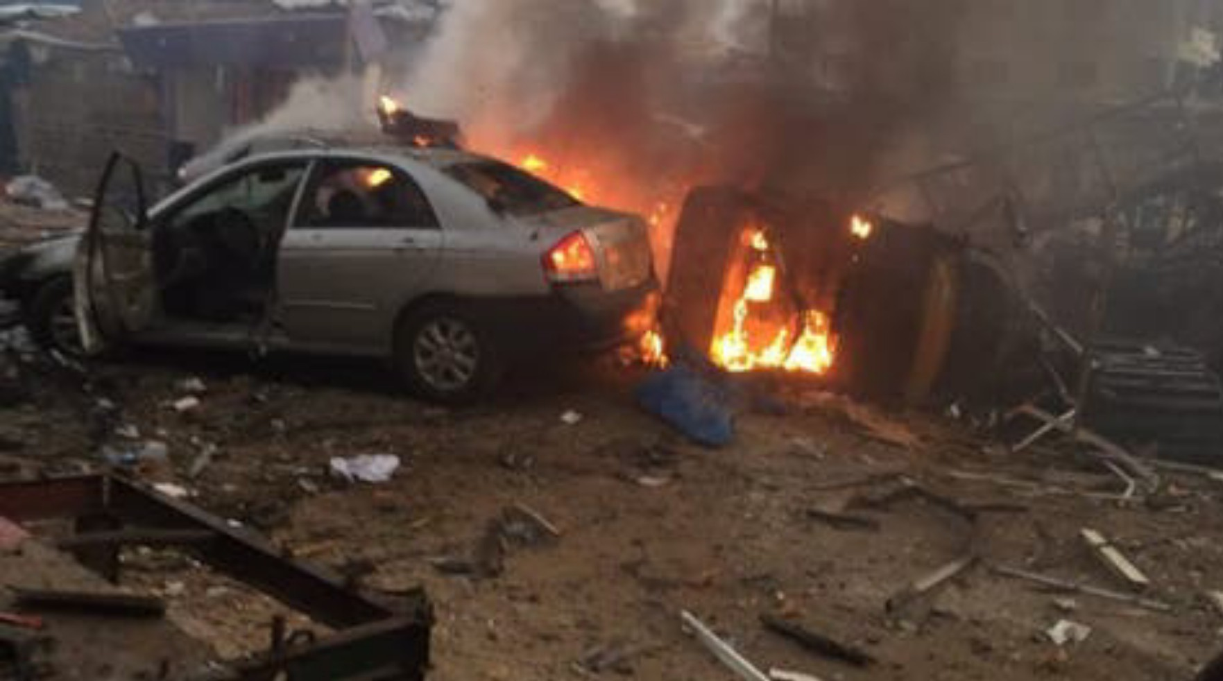 Many feared dead, several injured as explosion rocks Isolo, Lagos