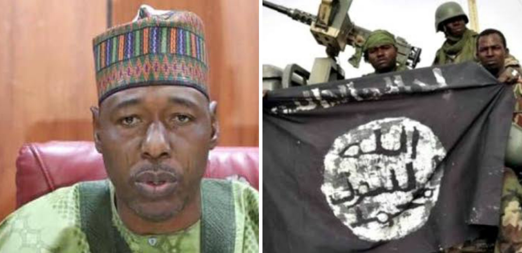Boko Haram attacks Gov Zulum's convoy