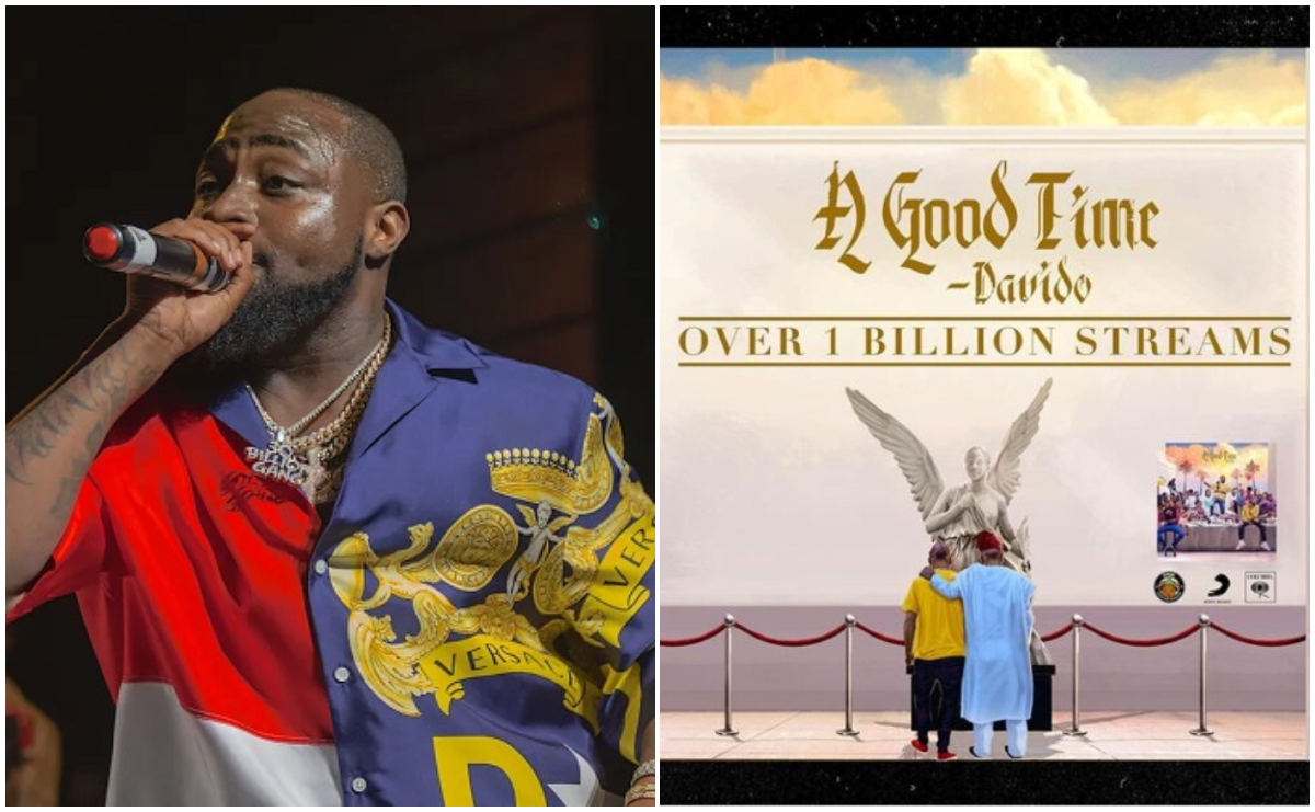 "Davido's ""A Good Time"" Hits Over A Billion Streams On All Platforms"