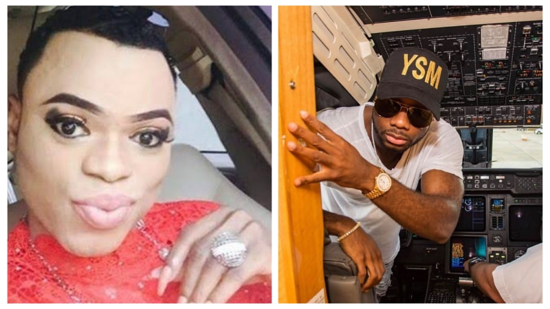 PHOTOS: Bobrisky bows to pressure, unveils the identity of his 'bae'