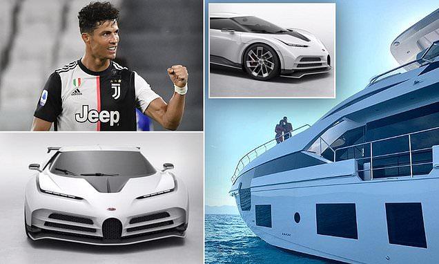Cristiano Ronaldo splashes £8.5m on Bugatti Centodieci