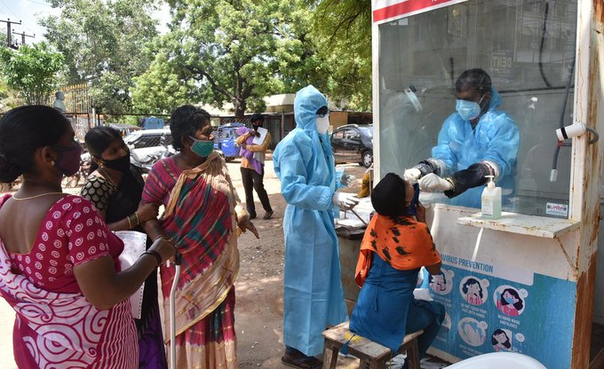 India records highest single day COVID-19 cases, tally hits 1.63m