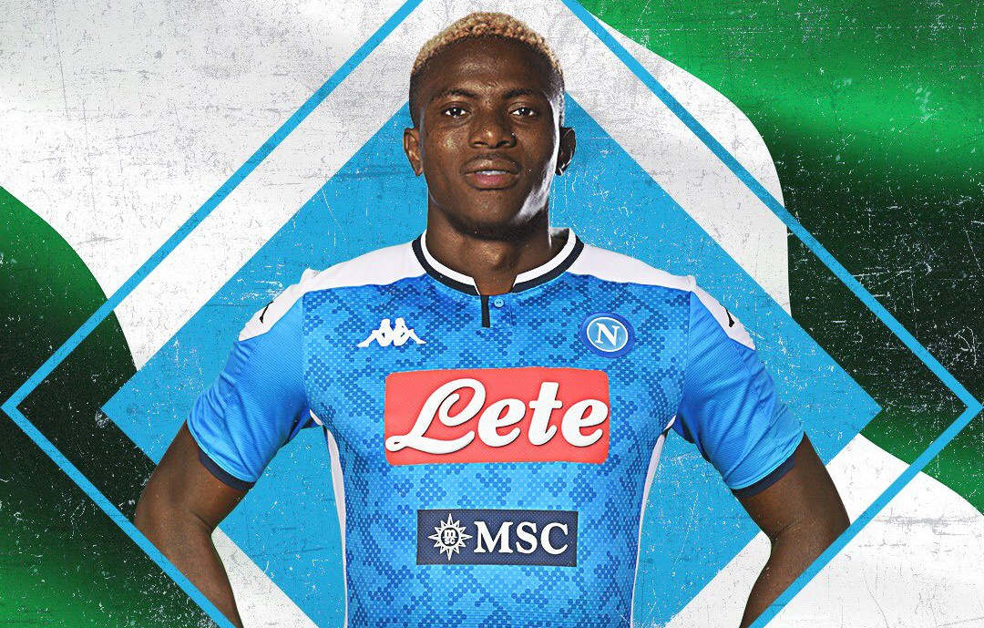 OFFICIAL: Osimhen Joins Napoli From Lille