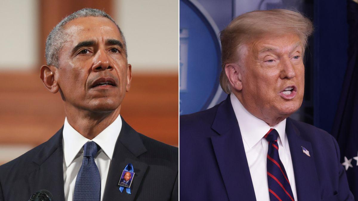 Trump's actions threaten US democracy, Barack Obama warns