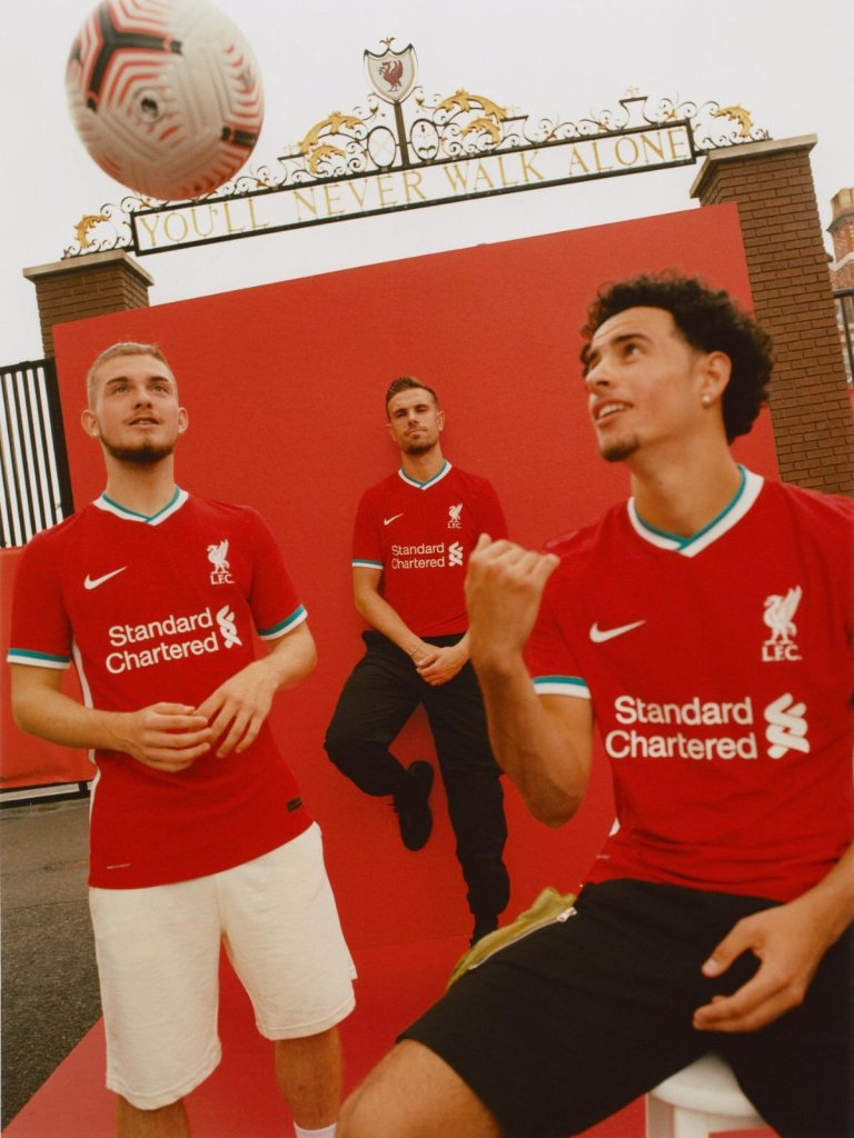 Check out Liverpool's new jersey for 2020-21 season