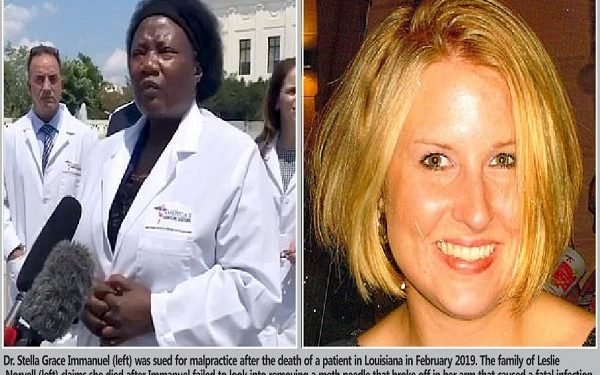 How COVID doctor Stella Immanuel was sued for alleged malpractice after patient's death