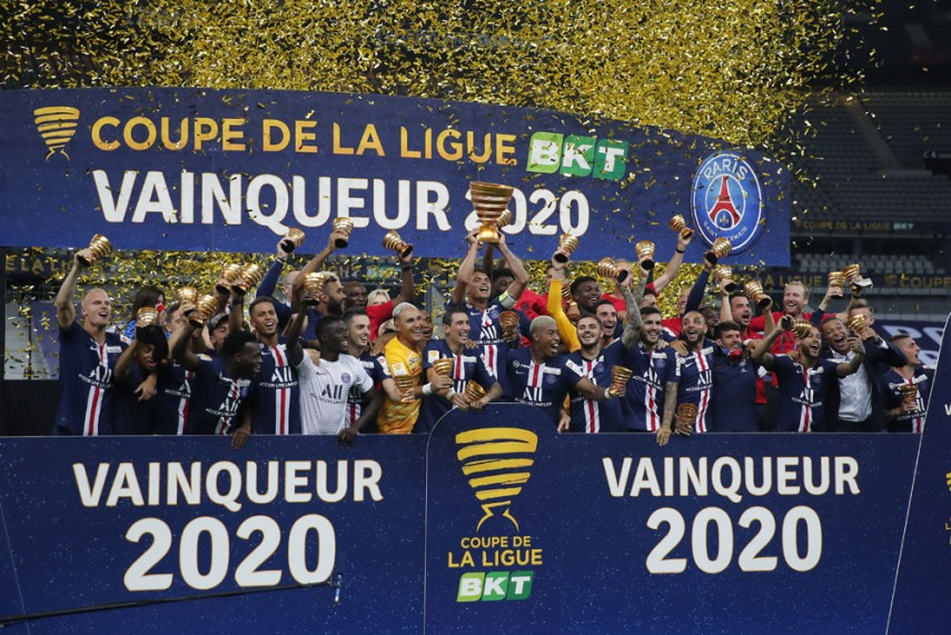 PSG sweep all French trophies for 2019-20