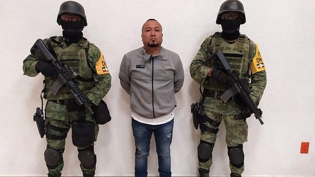 PHOTOS: Police nabs Mexican drug lord 'El Marro' after years on the run