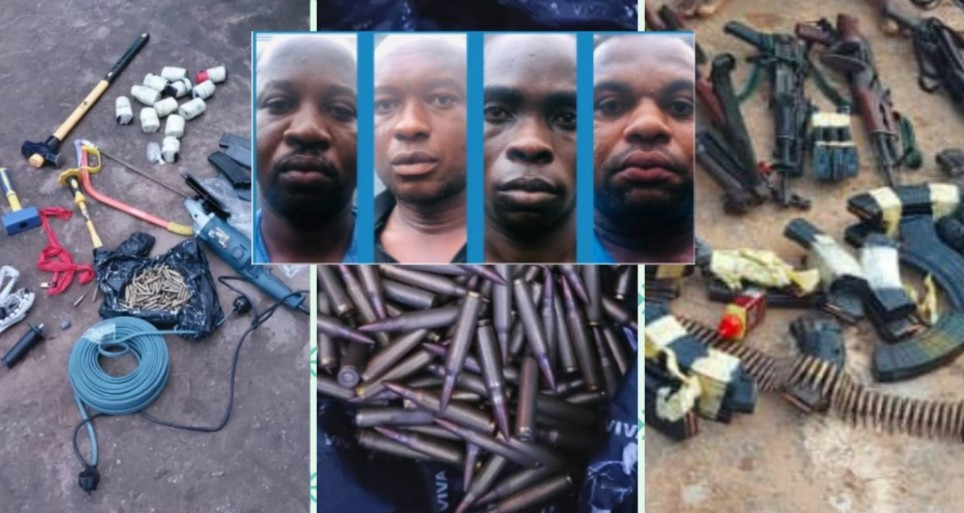Police Arrest Ebonyi Bullion Van Robbery Suspects, Recovery Heavy Weapons, Charms, Cars, Others (PHOTOS)