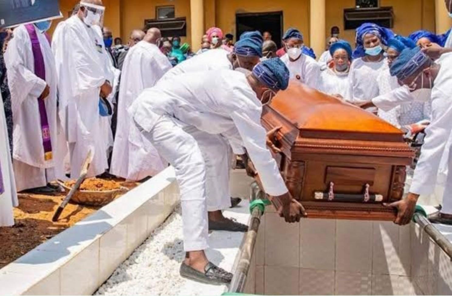 Afenifere leader, Ayo Fasanmi, buried in Ekiti home