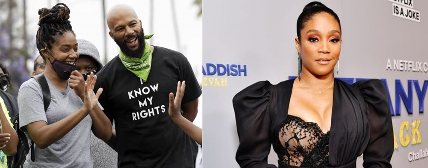 Tiffany Haddish confirms she's dating Common