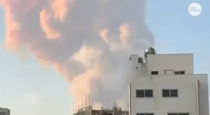 VIDEO: Many dead, buildings destroyed as deadly explosion rocks Lebanon's capital, Beirut