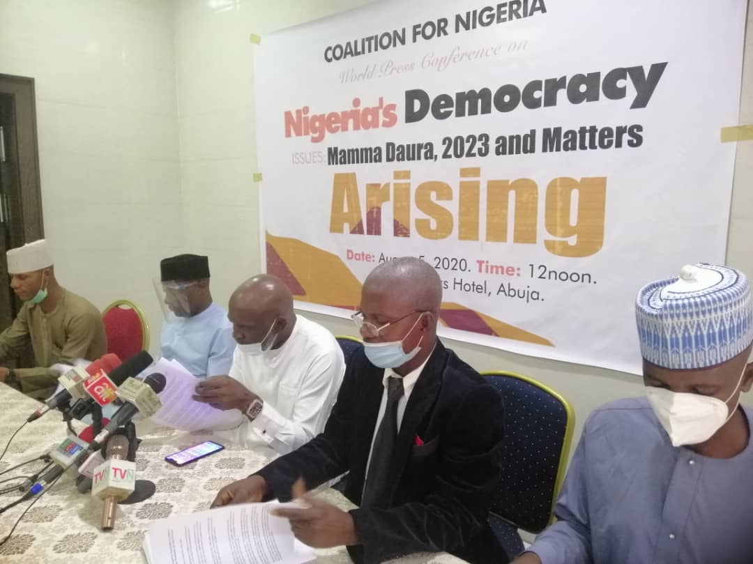 2023: Mamman Daura eminently qualified to speak on Nigeria's future as a statesman - Coalition for Nigeria