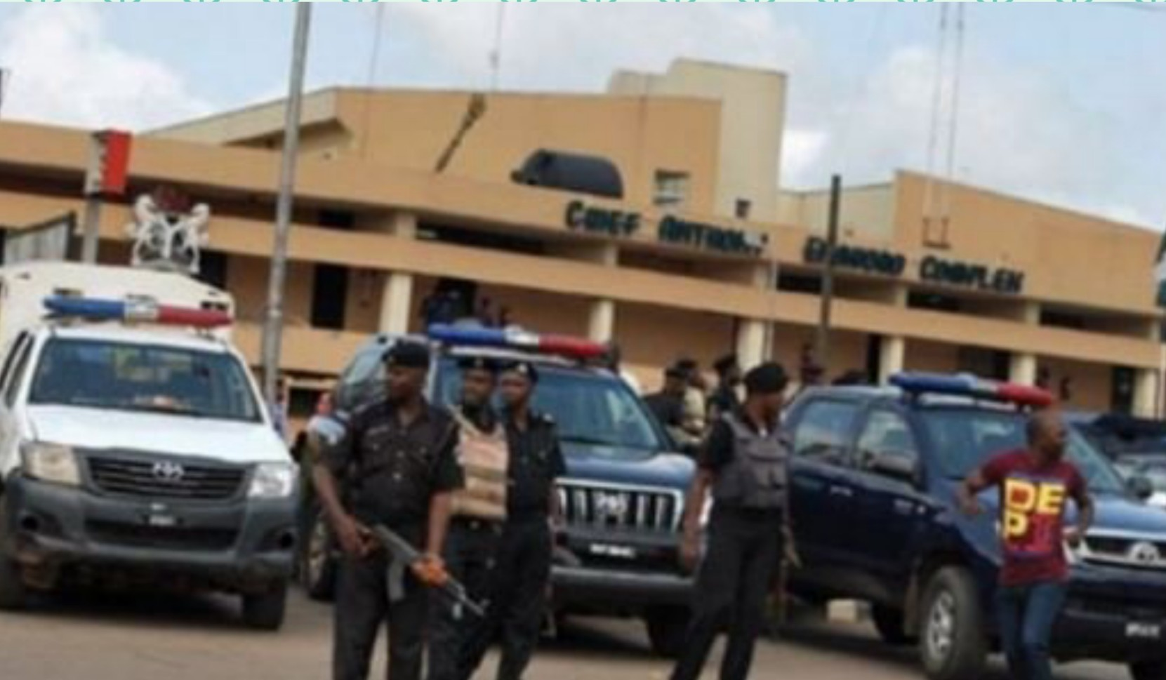 BREAKING: Police take over Edo Assembly complex