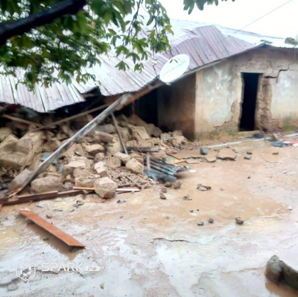 Days after bandits invaded and rendered many homeless, flood destroys houses in Kafanchan