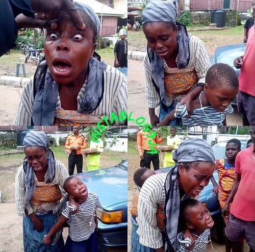 Fake blind beggar exposed and apprehended in Ebonyi