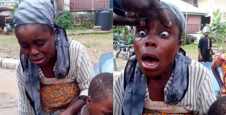Fake blind beggar uncovered and apprehended in Ebonyi