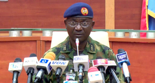 Nigerian Army opens up on alleged attack on Borno state governor's convoy