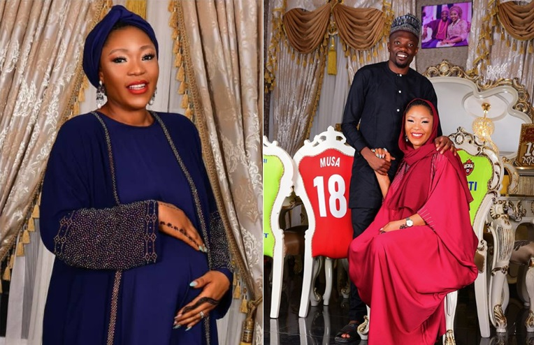 Ahmed Musa and wife, Julie, welcome a baby boy
