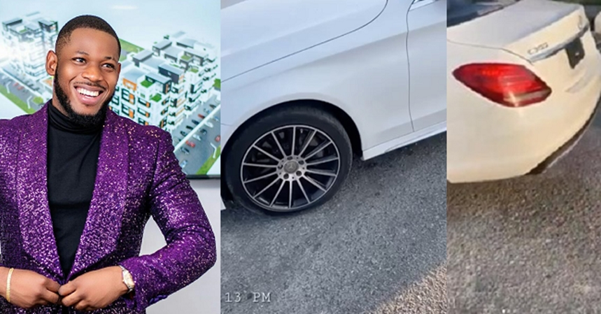 BBNaija's Frodd gets a Mercedes Benz car gift hours after getting trolled for being broke on IG