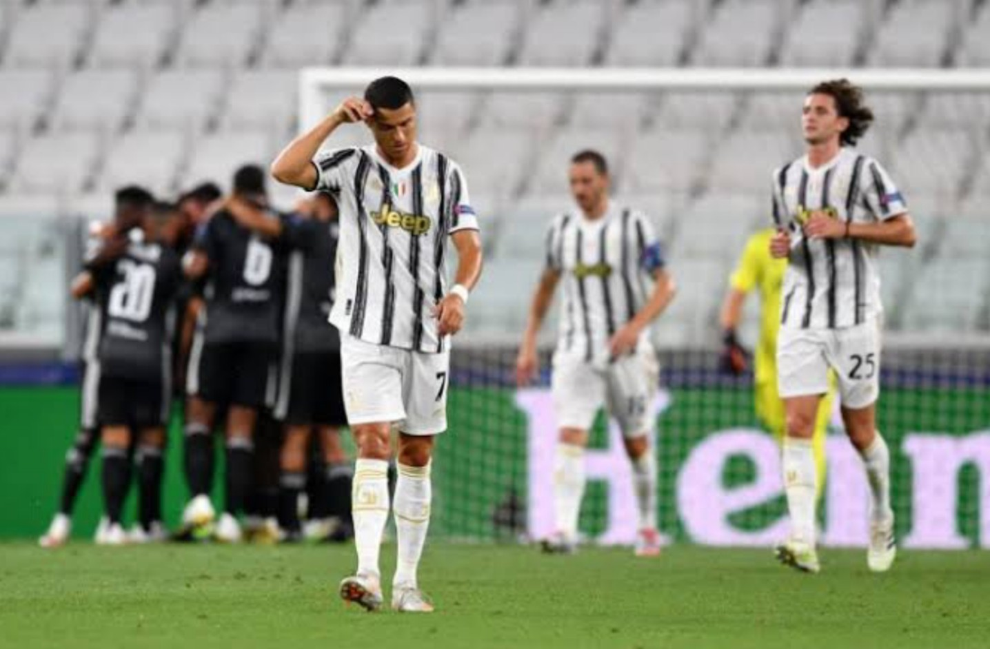 BREAKING: Real Madrid, Juventus crash out of UCL