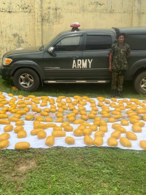 Fake Army Major arrested for drug peddling in Delta State