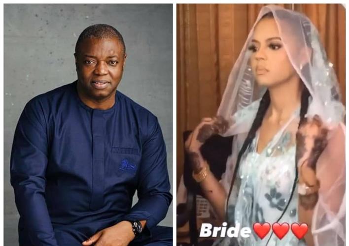 Photos: Billionaire daughter, Adama Indimi weds billionaire Kogi prince, Malik Ado-Ibrahim
