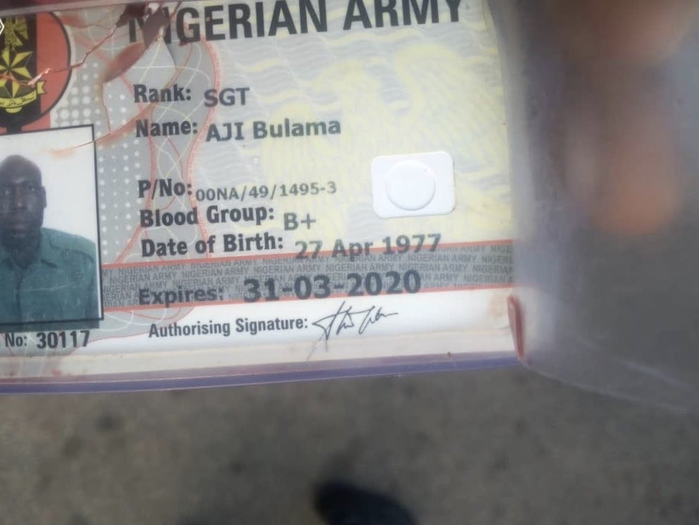 PHOTOS: Gunmen kill military officer during an attack on a commercial bus in Enugu