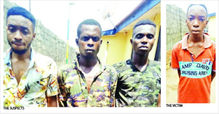 Siblings arrested for masterminding the kidnap of their youngest brother to extort N7m from their grandfather