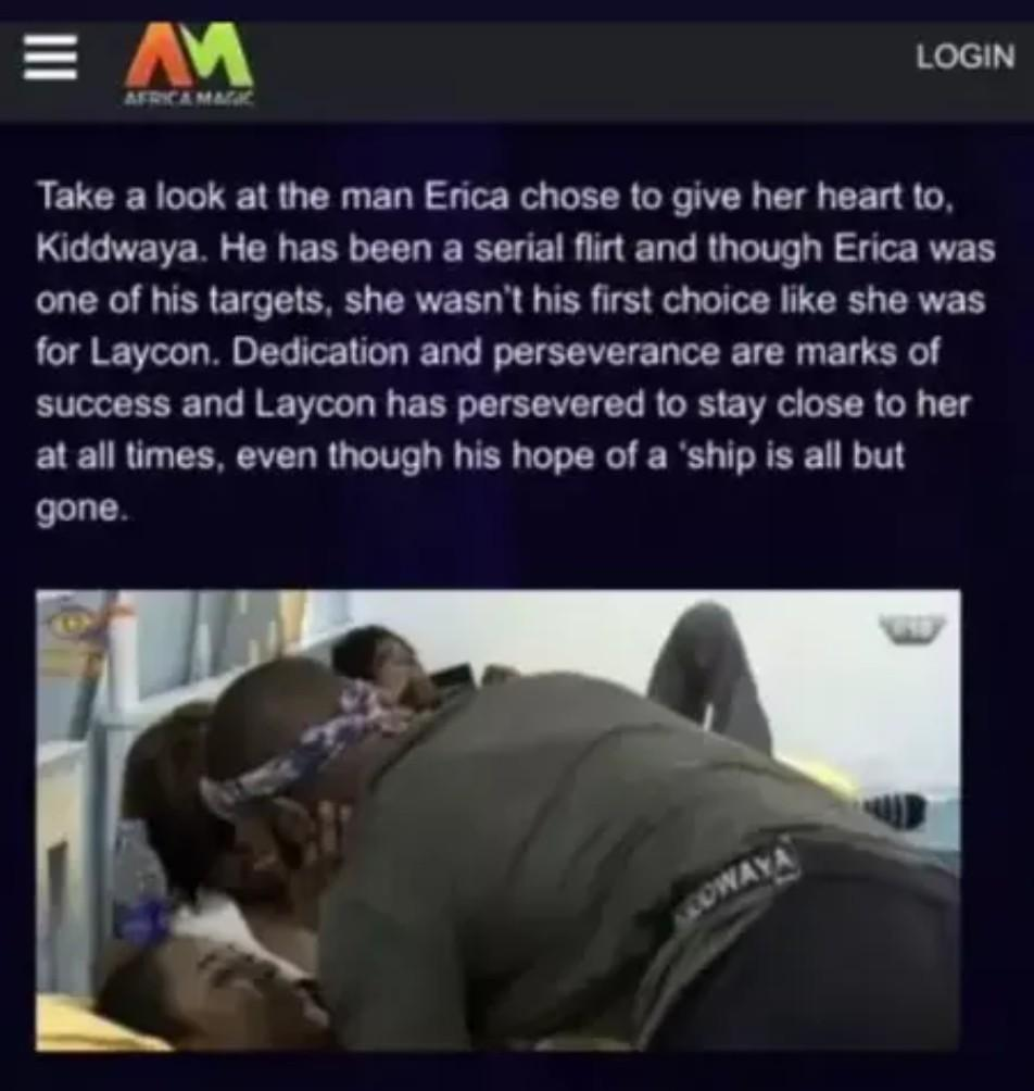 Big Brother Naija apologises for calling Kiddwaya 'serial flirt'