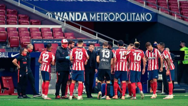 Two Atletico Madrid staff test positive for Covid-19 ahead of Champions League tie