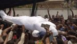 VIDEO: Buruji Kashamu laid to rest as sympathisers defy COVID-19 protocols