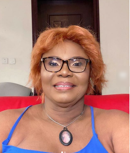 Nollywood actress, Iyabo Ojo celebrates mum on her birthday