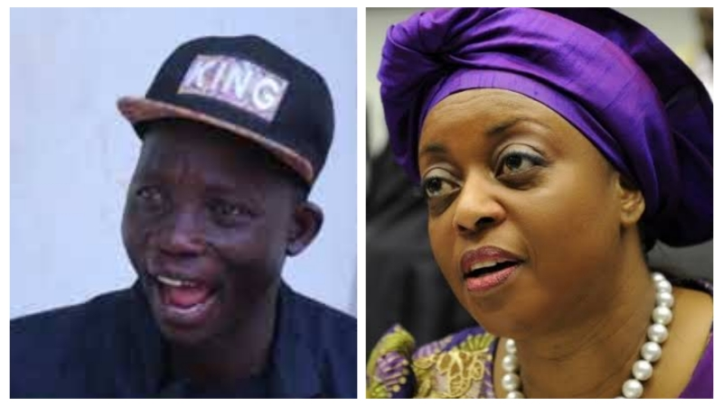 AGBA YAHOO: Who will rescue Diezani from 'benefits boys'?